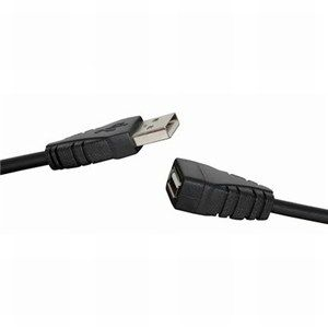 0.5m USB 2.0 A Male to USB A Female