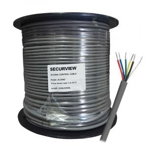 200m 6-Core Access Control Cable (7/0.20mm)