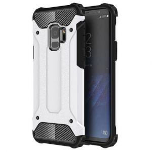 White Tough Armour Case for Samsung Galaxy S9