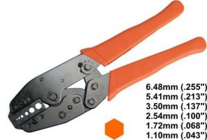 "8.7"" Ratchet Crimping Tool (DL-801G)"
