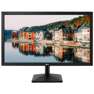 Front view of 24 inch LG monitor.