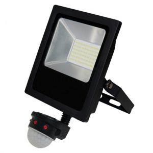 30W 6000K Sensored Floodlight Cool White (5000K)