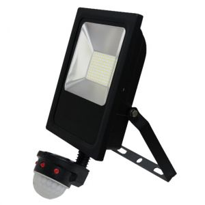 50W LED Sensored Floodlight Cool White (5000K)