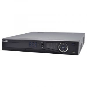 Front view of network video recorder.