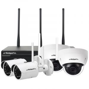 WiFi Series 4 Channel 3.0MP Wireless IP Surveillance Kit