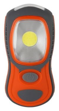 Front view of the LED Work Light showing the lamp light