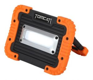 Tomcat 10W Battery Powered Comb Flood Light