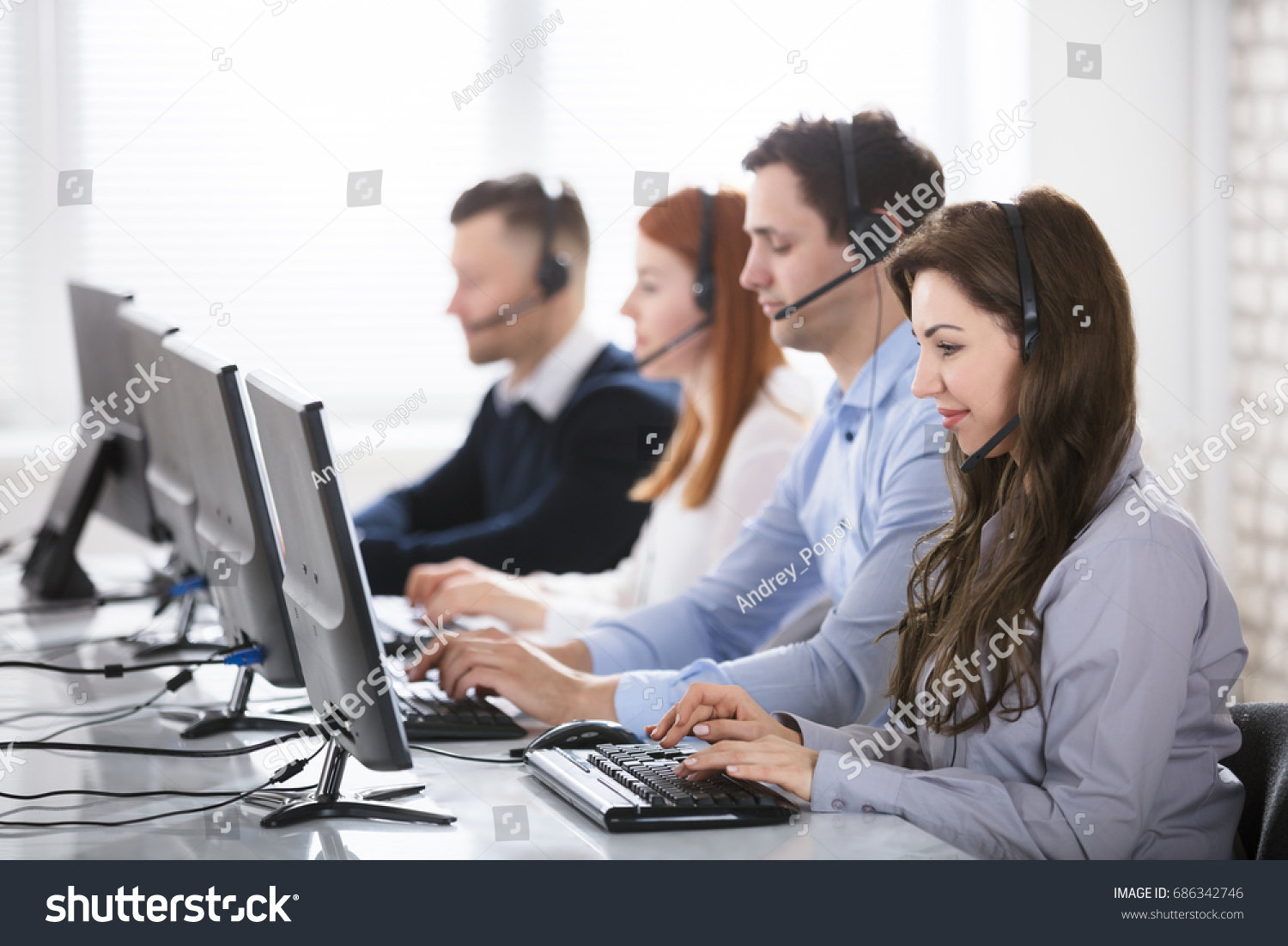 Stock Photo of tech support